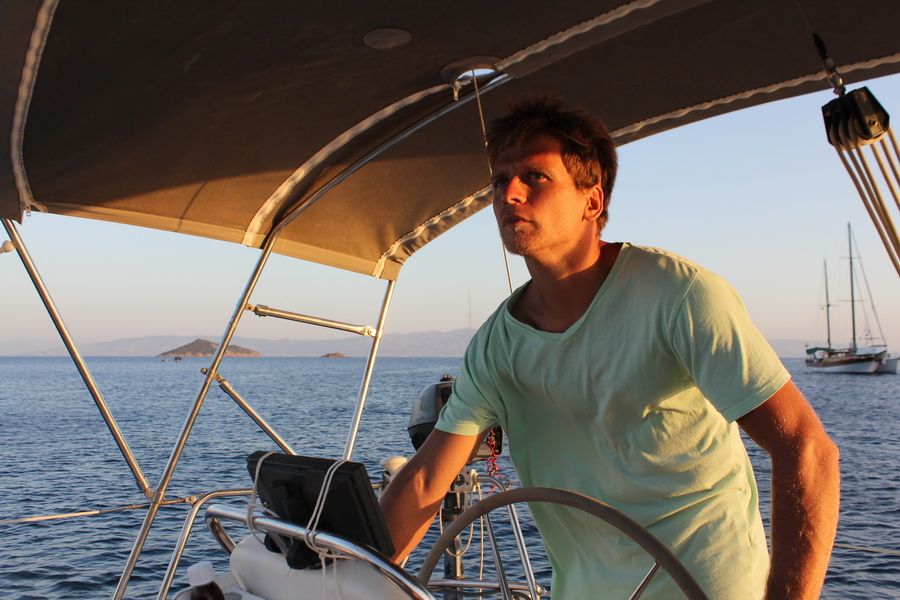 Yachting mixed with rock-climbing in Turkey and the Greek Islands